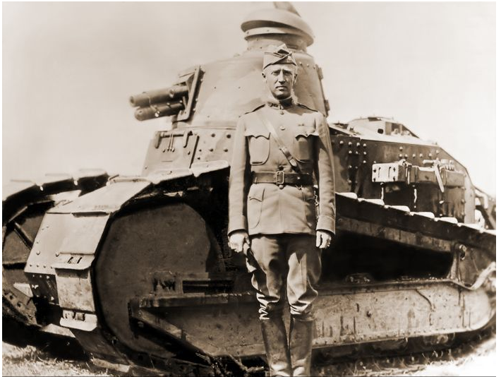 Patton in WWI