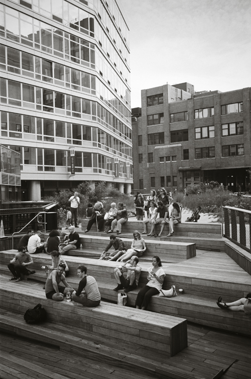 The High Line, Aug 2009