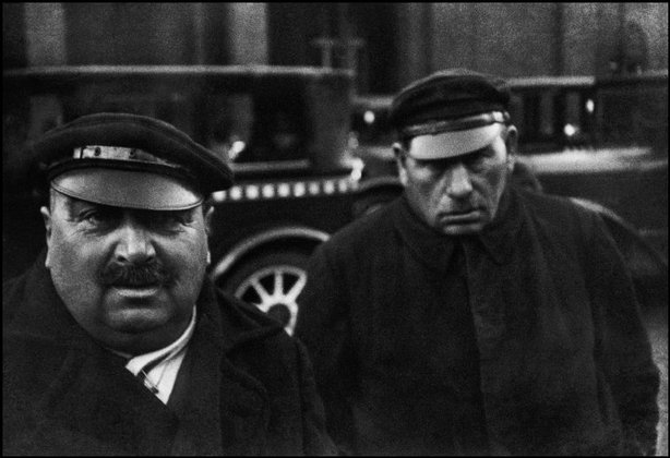 BERLIN—Taxi drivers, 1931, Henri Cartier-Bresson © Magnum Photos