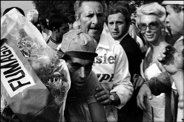 MULHOUSE, ALSACE, France—The Tour de France, 1969. © Henri Cartier-Bresson / Magnum Photos