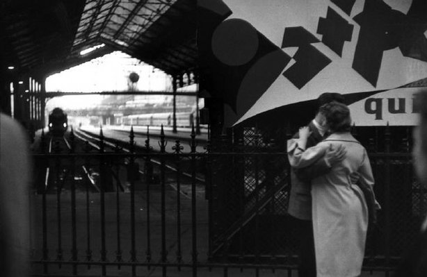 PARIS—The Gare du Nord, 1955. © Henri Cartier-Bresson / Magnum Photos