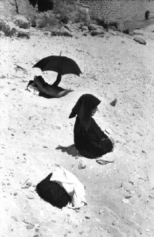 SARDINIA, Italy—Cala Gonone Beach in the village of Dorgali, 1962. © Henri Cartier-Bresson / Magnum Photos