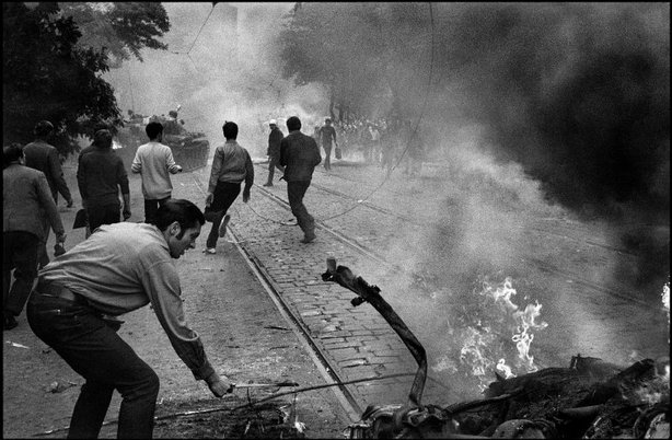 PRAGUE, Czechoslovakia—August 1968. © Josef Koudelka / Magnum Photos