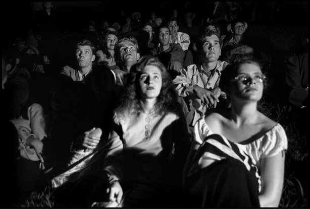 MASSACHUSETTS—Watching fireworks on July 4, 1947. © Henri Cartier-Bresson / Magnum Photos