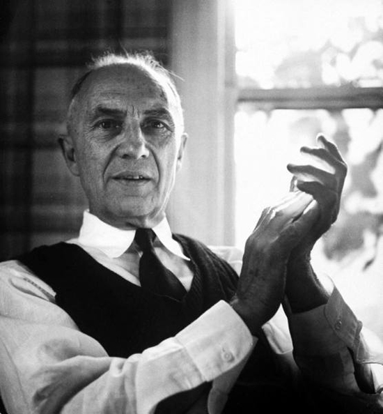 William Carlos Williams, Nov 01, 1954 by Lisa Larsen  Time / Life