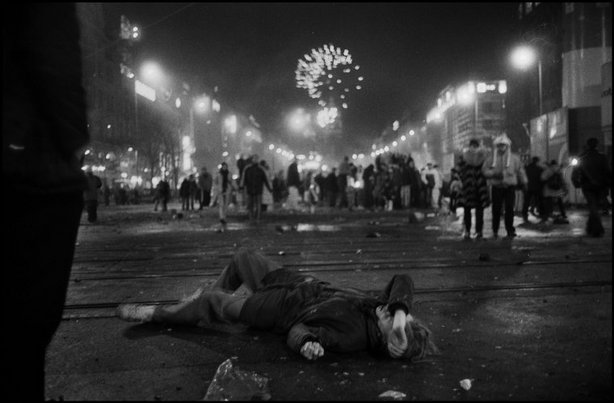 PRAGUE—New Years' Eve, 2005. © Josef Koudelka / Magnum Photos
