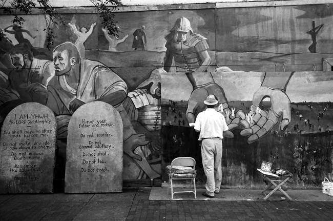Mural Painter, Montgomery, Alabama © Doug Kim