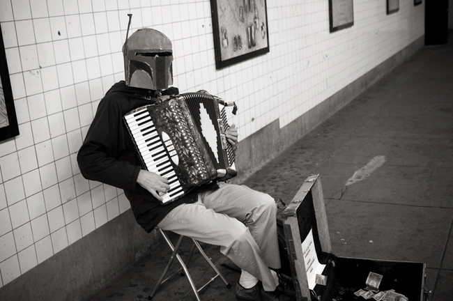 Boba Fett, 14th Street © Doug Kim