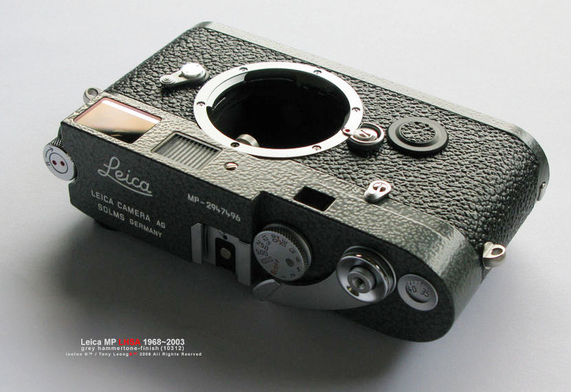 LEICA MP LHSA 1968~2003 Grey Hammertone Finish