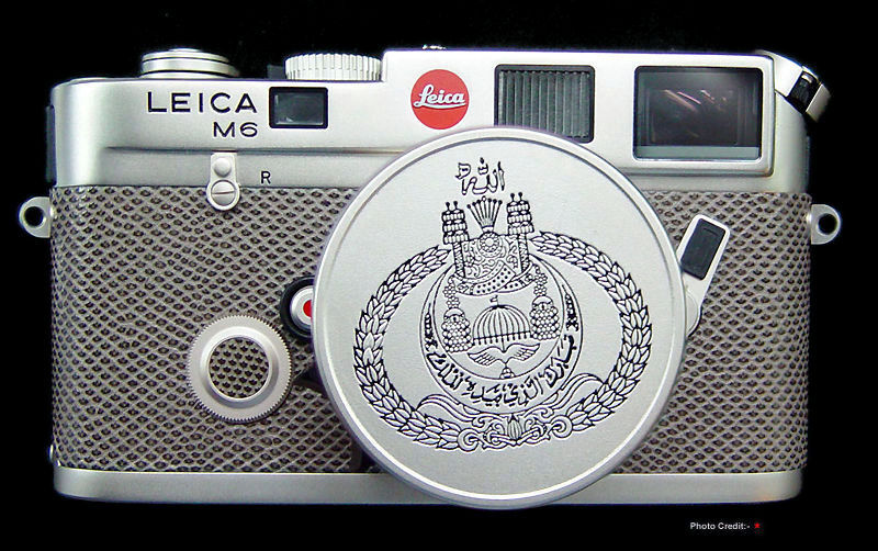 LEICA M6 Platinum Sultan of Brunei 50th Birthday Edition, 1995