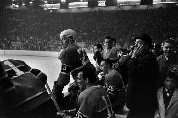 MONTREAL—A Stanley Cup hockey game, 1965. © Henri Cartier-Bresson / Magnum Photos