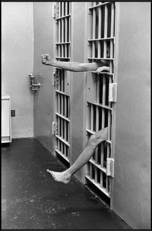 NEW JERSEY—Solitary confinement in the model prison of Leesburg, 1975. © Henri Cartier-Bresson / Magnum Photos