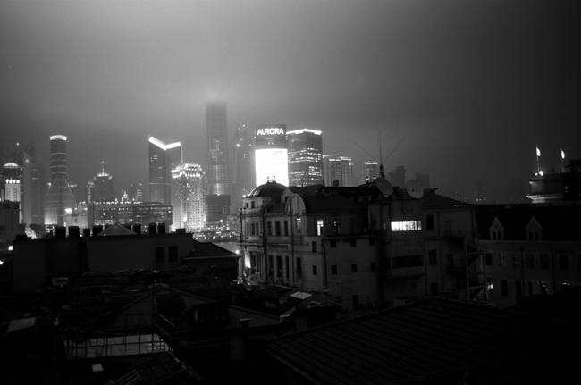 The Bund, Shanghai, shot with Leica M6 TTL 0.58, 35mm summicron, Kodak Tri-X © Doug Kim
