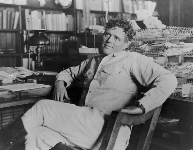 Jack London © Getty Images