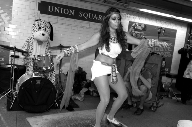 Buskers, Union Square © Doug Kim