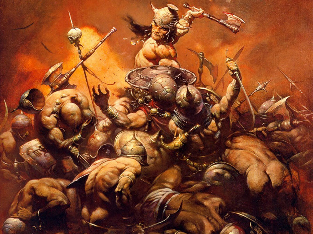 The Destroyer, Frank Frazetta