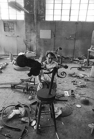 Jean Tinguely, 1963  Dennis Hopper
