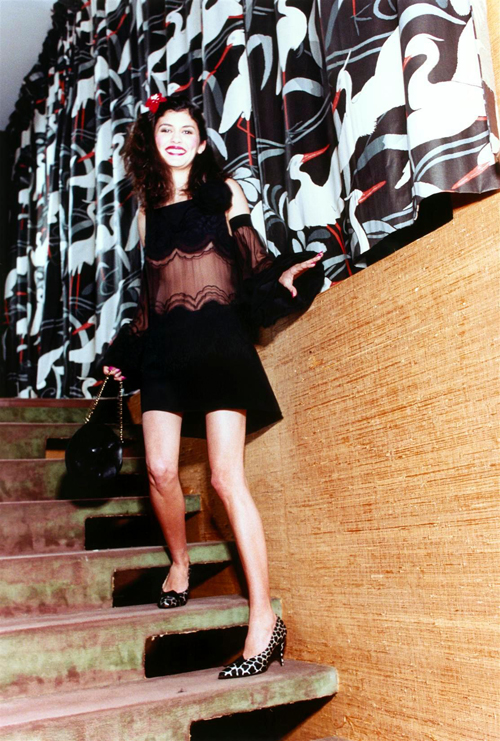 Audrey Tautou in German Vogue by Ellen Von Unwerth