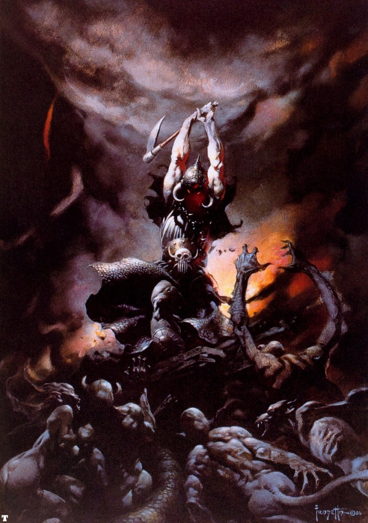 Deathdealer II, Frank Frazetta