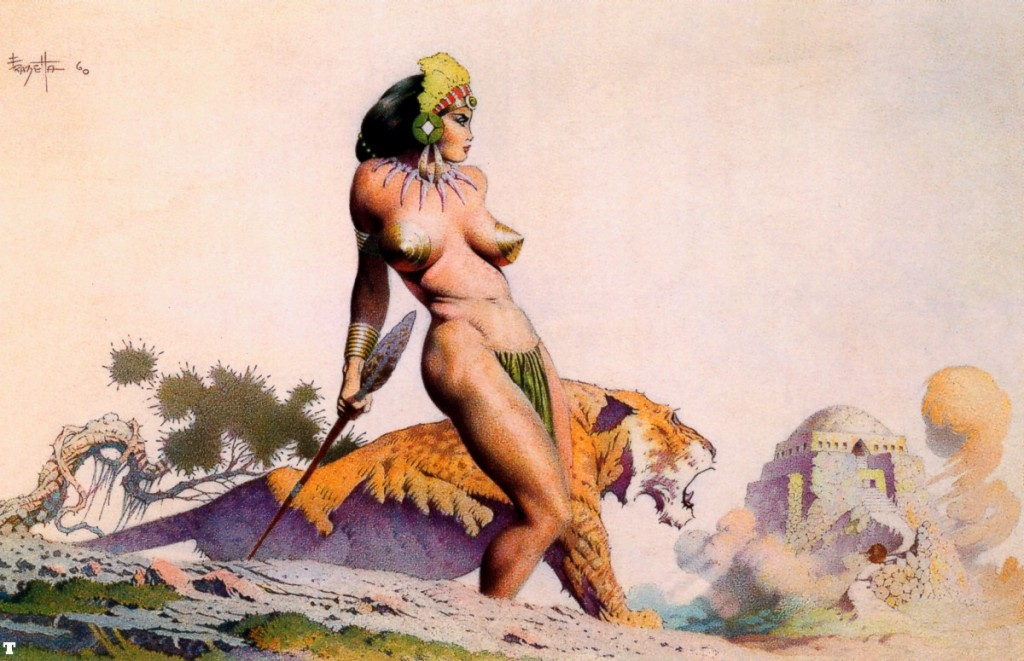 Lost City, Frank Frazetta