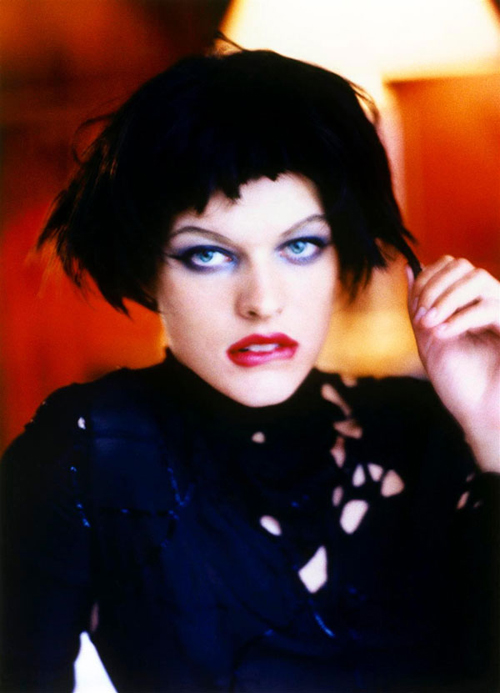 How to Get Ahead in Hollywood with Milla Jovovich 1997 by Ellen Von Unwerth