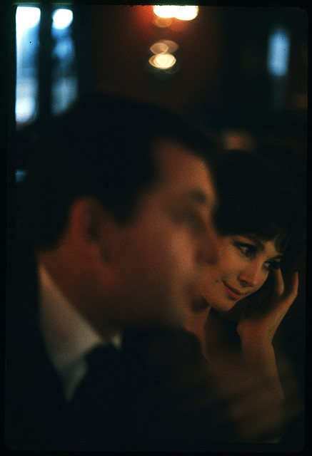 At the bar, Tom Palumbo, Paris 1962