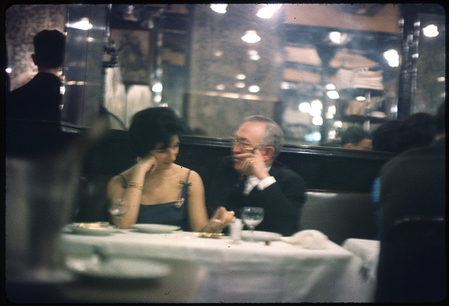 After Dinner, Tom Palumbo, Paris 1962
