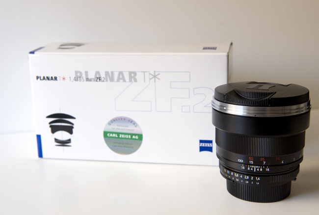 Zeiss Planar T* 85mm f/1.4 ZF.2 Lens