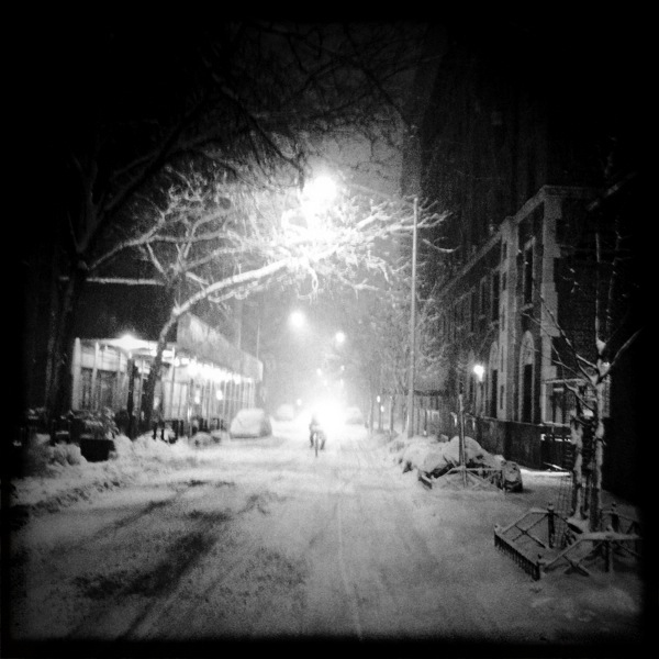 Clinton Street, Brooklyn Heights; Hipstamatic app on the iPhone © Doug Kim