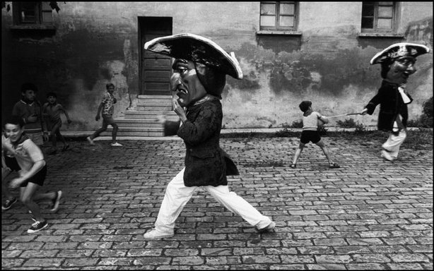 PAMPLONA, Spain—Carnival, 1972. © Josef Koudelka / Magnum Photos