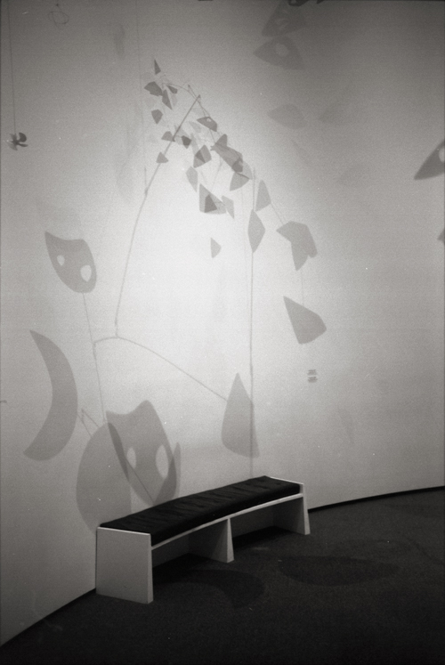 National Gallery of Art, Calder, Washington DC; Nikon F5, 28-70mm Nikkor, Agfa APX 400