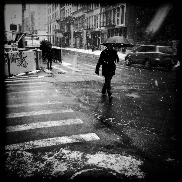 Bleecker & Broadway, NoHo; iPhone Hipstamatic app © Doug Kim