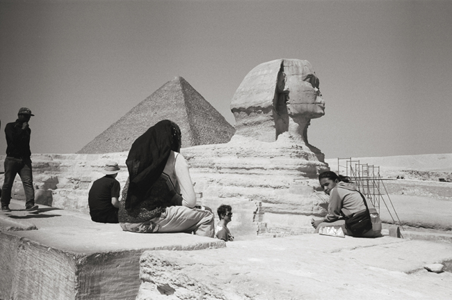 Giza, Egypt, February 2011; Leica M