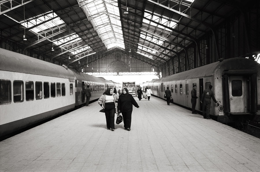 Misr Railway Station, Alexandria, Egypt, February 2011; Leica MP 0.58, 35mm Summicron, Kodak Tri-X