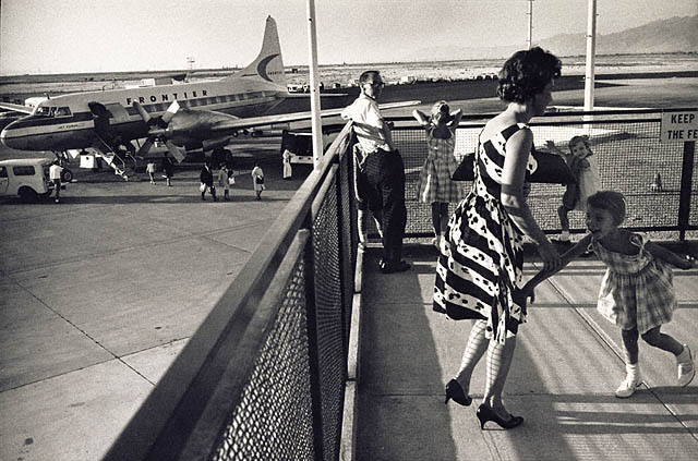 Salt Lake City Municipal Airport, Utah, Garry Winogrand, Salt Lake City, 1964 © The Estate of Garry Winogrand