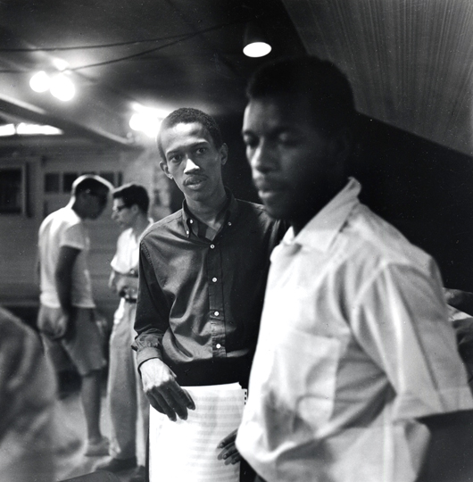 Don Cherry and Ornette Coleman  1959 Clemens Kalischer