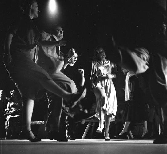 Audience Dancing © 1951 Clemens Kalscher