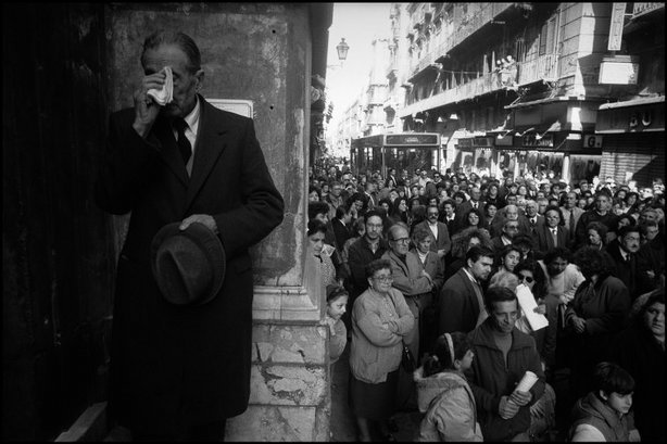 PALERMO, SICILY, Italy—Easter religious celebrations, 1993 © Josef Koudelka / Magnum Photos