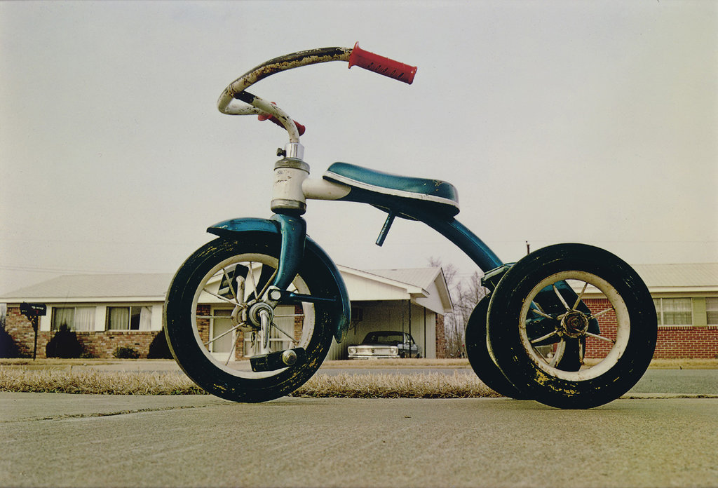 Memphis (Tricycle), c.1969-1970 © William Eggleston