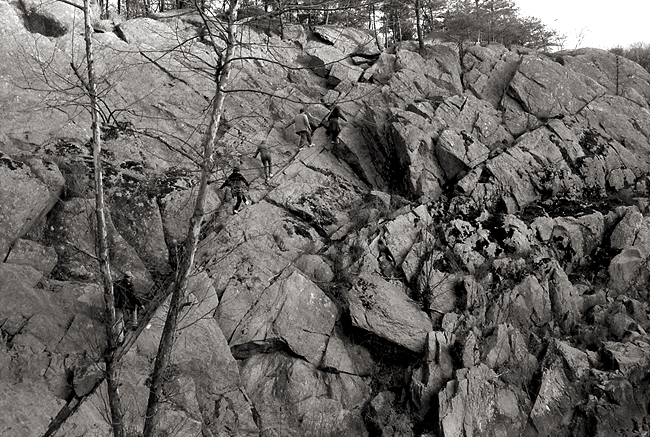 The Billy Goat Trail, Great Falls, Maryland © Doug Kim, Nikon F5, 35-70mm Nikkor, Agfa APX 400