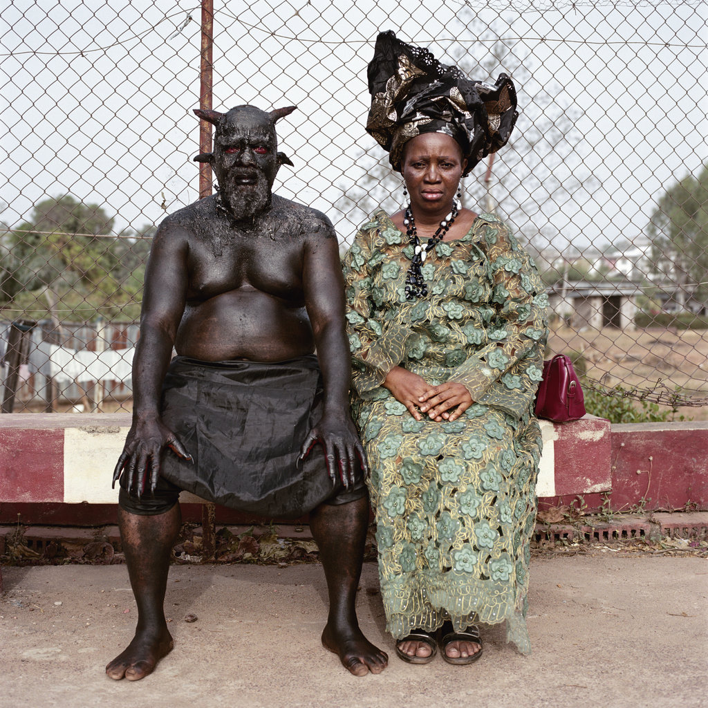 Chris Nkulo and Patience Umeh. Enugu, Nigeria, 2008 by Pieter Hugo