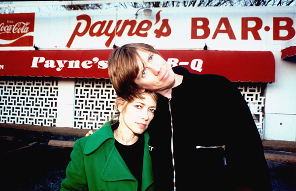 Kim Gordon and Thurston Moore in November 1995, © John Zich/TIME LIFE