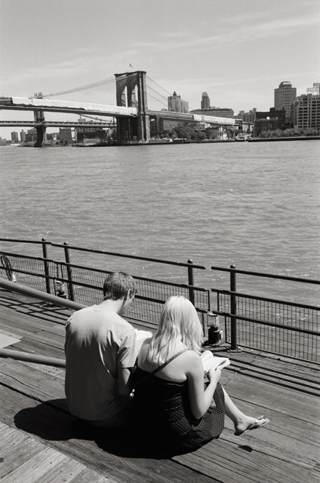 South Street Seaport, New York City © Doug Kim; Leica MP 0.58, 35mm Summicron, Kodak Tri-X