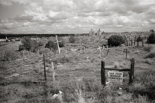 San Juan Mission Cemetery, Farmington, New Mexico © Doug Kim; Leica MP 0.58, 35mm Summicron, Kodak Tri-X