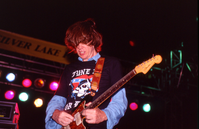 Thurston Moore, Sonic Youth, Sunset Junction 2002  Doug Kim; Nikon F5, Nikkor 80-20mm, Kodak E200