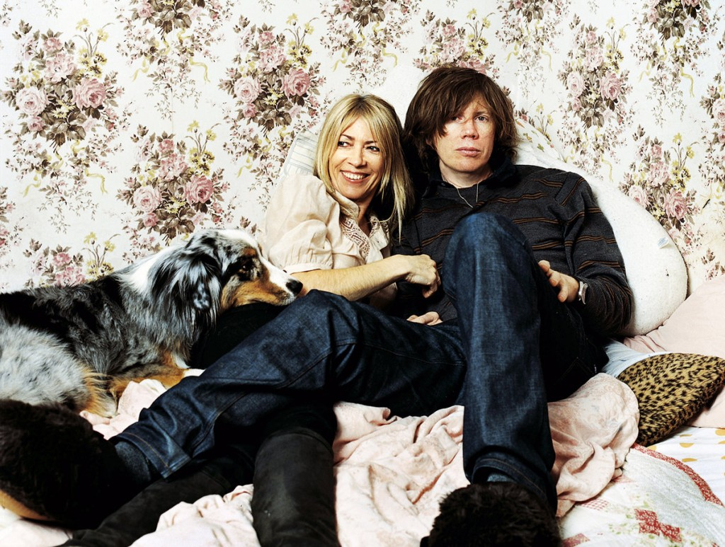 Kim Gordon, Thurston Moore in Coco's bedroom at their home in Massachusetts © Aliya Naumoff