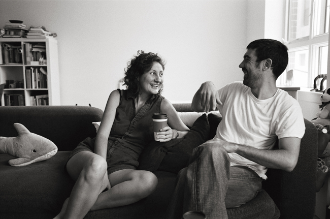 Asli & Kutan, Prospect Heights © Doug Kim; Leica MP 0.58, 35mm Summicron, Kodak Tri-X