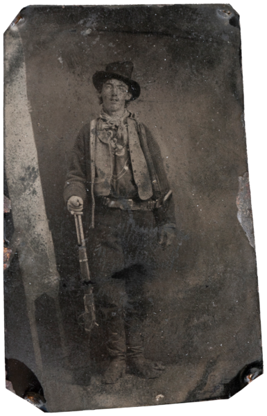 Billy the Kidd,1879–80 - Unknown photographer