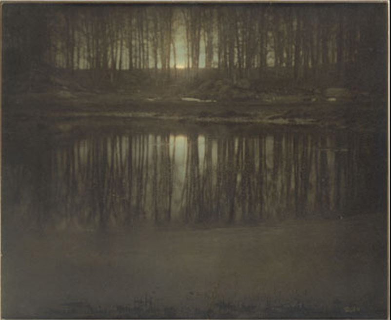 The Pond-Moonlight, 1904 -  Edward Steichen