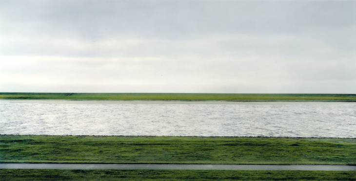 Rhine II, 1999 - Andreas Gursky 
